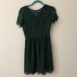 Dolce Vita Green Lace Dress